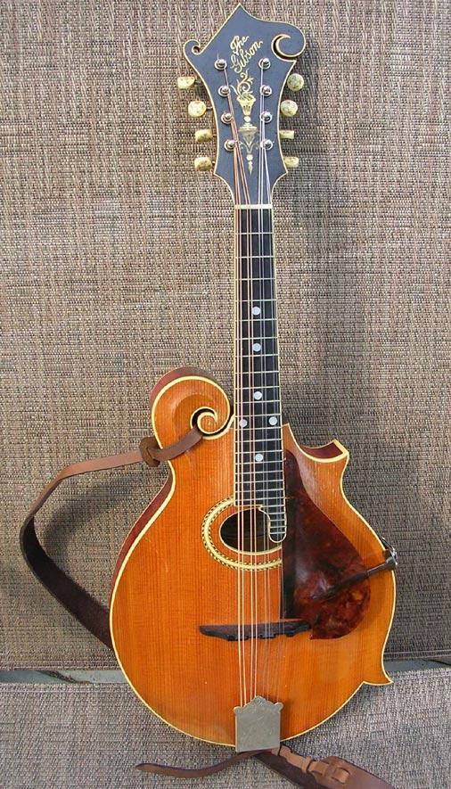 The Mandolin Archive: Gibson F4 Mandolin #14493